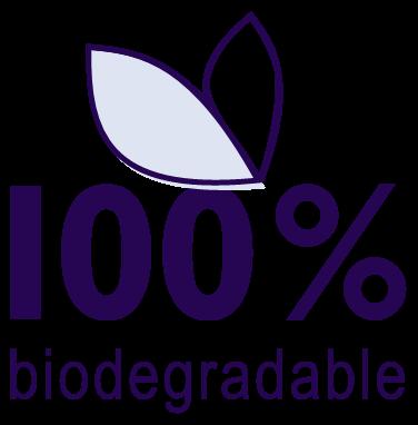 100% biodegradowalne