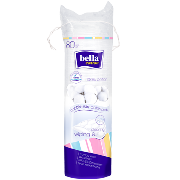Bella Cotton pads – round