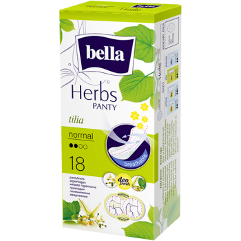 Bella Herbs pantyliners with linden flower extract – normal