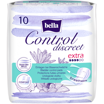 Bella Control Discreet Extra pantyliners