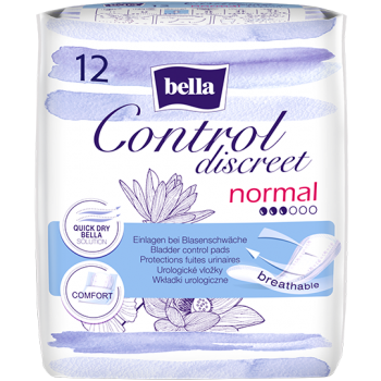 Bella Control Discreet Normal pantyliners