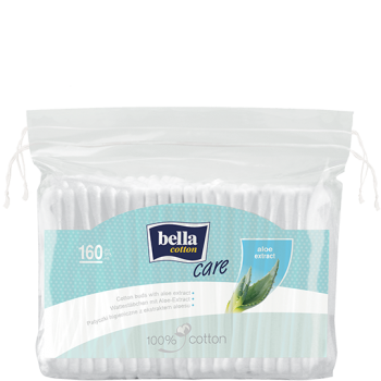 Bella Cotton Care pads with aloe vera